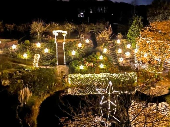 Hof-Lichterwelt - Kräutergarten